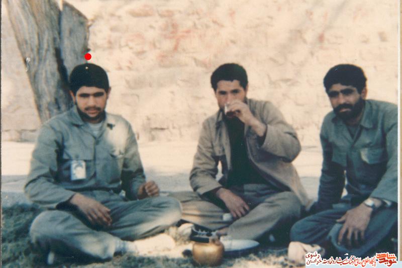 نتیجه تصویری برای شهیدحبیب حسینی زین ابادی